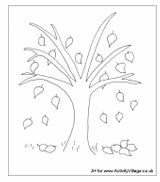 Imprimer le coloriage : Arbres, numéro 129138