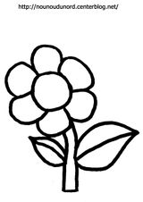 Imprimer le coloriage : Fleurs, numéro 104c4a24