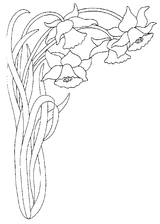 Imprimer le coloriage : Fleurs, numéro 129174