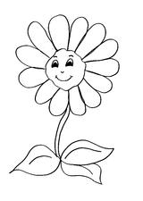 Imprimer le coloriage : Fleurs, numéro 146401