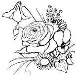 Imprimer le coloriage : Fleurs, numéro 146408