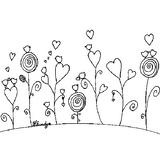 Imprimer le coloriage : Fleurs, numéro 153