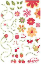Imprimer le dessin en couleurs : Fleurs, numéro 21208