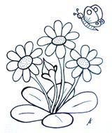 Imprimer le dessin en couleurs : Fleurs, numéro 21214