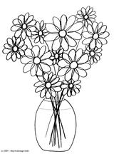 Imprimer le coloriage : Fleurs, numéro 3121