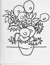 Imprimer le coloriage : Fleurs, numéro 3147