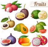 Imprimer le dessin en couleurs : Fruits, numéro 191b6ee