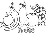 Imprimer le coloriage : Fruits, numéro 1e58efb7
