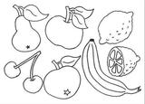 Imprimer le dessin en couleurs : Fruits, numéro 476725