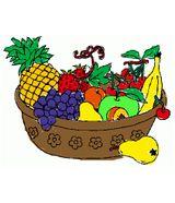 Imprimer le dessin en couleurs : Fruits, numéro 548243