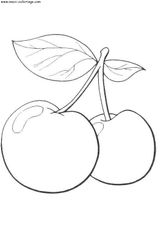Imprimer le dessin en couleurs : Fruits, numéro 569525