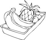 Imprimer le dessin en couleurs : Fruits, numéro 684303