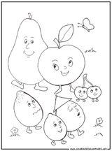 Imprimer le dessin en couleurs : Fruits, numéro 684308
