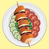 Imprimer le dessin en couleurs : Légumes, numéro 119314