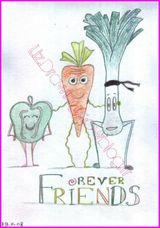 Imprimer le dessin en couleurs : Légumes, numéro 11936