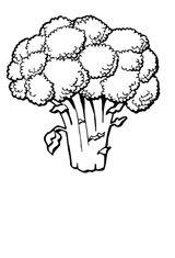 Imprimer le coloriage : Légumes, numéro 130203