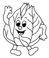 Imprimer le coloriage : Légumes, numéro 13519