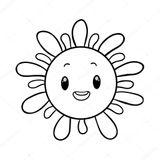 Imprimer le coloriage : Soleil, numéro 120373c5