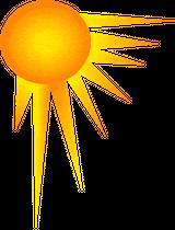 Imprimer le dessin en couleurs : Soleil, numéro 165552