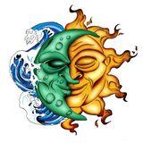 Imprimer le dessin en couleurs : Soleil, numéro 21484