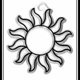 Imprimer le dessin en couleurs : Soleil, numéro 58749