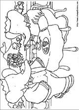 Imprimer le coloriage : Babar, numéro 145890