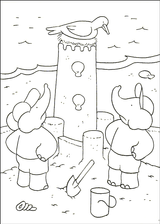 Imprimer le dessin en couleurs : Babar, numéro 20730