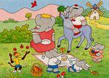 Imprimer le dessin en couleurs : Babar, numéro 20731