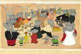 Imprimer le dessin en couleurs : Babar, numéro 20736