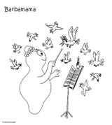 Imprimer le coloriage : Barbapapa, numéro 12bb78d9