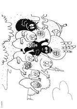 Imprimer le coloriage : Barbapapa, numéro 146425