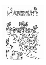 Imprimer le coloriage : Barbapapa, numéro 146430