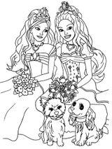 Imprimer le coloriage : Barbie, numéro 1145bafd