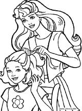 Imprimer le coloriage : Barbie, numéro 128200