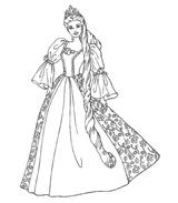 Imprimer le coloriage : Barbie, numéro 128214