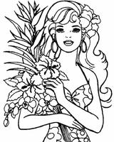 Imprimer le coloriage : Barbie, numéro 16679