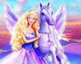 Imprimer le dessin en couleurs : Barbie, numéro 20597