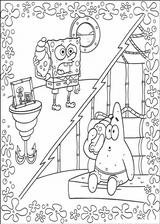 Imprimer le coloriage : Bob l'éponge, numéro 113403