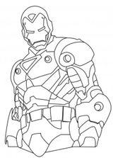Imprimer le coloriage : Iron Man, numéro 1000