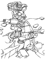 Imprimer le coloriage : Iron Man, numéro 1026