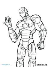 Imprimer le coloriage : Iron Man, numéro 1040bba9