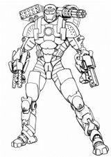 Imprimer le coloriage : Iron Man, numéro 1065d966