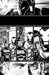 Imprimer le coloriage : Iron Man, numéro 113394