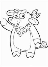 Imprimer le coloriage : Dora, numéro 128822