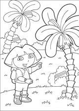 Imprimer le coloriage : Dora, numéro 128825