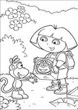 Imprimer le coloriage : Dora, numéro 128830