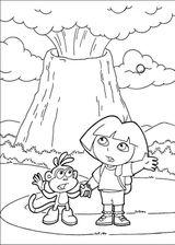 Imprimer le coloriage : Dora, numéro 128831