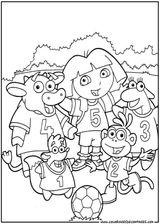 Imprimer le coloriage : Dora, numéro 128835