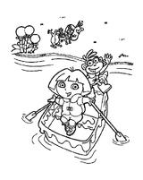 Imprimer le coloriage : Dora, numéro 133884d2