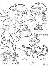 Imprimer le coloriage : Dora, numéro 167374